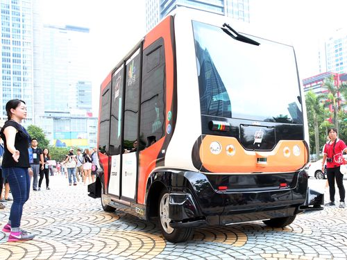 Taipei to test driverless bus program to improve traffic